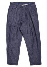 QUOLT(クオルト) TOP-GAUZE PANTS カラー:ネイビー<img class='new_mark_img2' src='https://img.shop-pro.jp/img/new/icons50.gif' style='border:none;display:inline;margin:0px;padding:0px;width:auto;' />