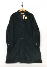 VOO(ヴォー) CORDUROY SHI-FU COAT カラー:ブラック F3<img class='new_mark_img2' src='https://img.shop-pro.jp/img/new/icons50.gif' style='border:none;display:inline;margin:0px;padding:0px;width:auto;' />