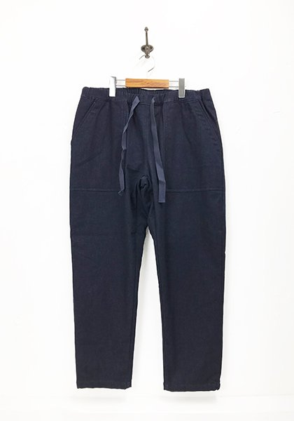 MOUNTAIN EQUIPMENT / マウンテンイクイップメント QUILTED DENIM FATIGUE PANTS/キルティングパンツ カラー:インディゴ<img class='new_mark_img2' src='https://img.shop-pro.jp/img/new/icons50.gif' style='border:none;display:inline;margin:0px;padding:0px;width:auto;' />