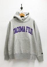 TACOMA FUJI RECORDS(タコマフジレコーズ)  COLLEGE LOGO HOODIE カラー:オートミール