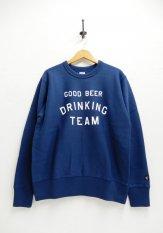 TACOMA FUJI RECORDS(タコマフジレコーズ)  GOOD BEER DRINKING TEAM SWEAT カラー:ネイビー