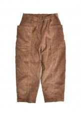 KELEN(ケレン) TOOL POCKET EASY WIDE PANTS / イージーワイドパンツ カラー:ブラウン