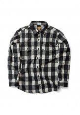 GREEN CLOTHING(グリーンクロージング) WOOL FLANNEL SHIRTS カラー:BLOCK