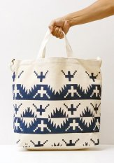 TACOMA FUJI RECORDS(タコマフジレコード) ALASKAN KING CRAB TOTE designed by Jerry UKAI カラー:ネイビー