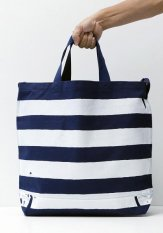 TACOMA FUJI RECORDS(タコマフジレコード) THE STRIPED TOTE designed by Jerry UKAI