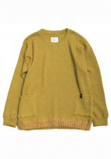 QUOLT(クオルト) QUOLT(クオルト) BIG-RIB KNIT / ニット カラー:マスタード<img class='new_mark_img2' src='https://img.shop-pro.jp/img/new/icons50.gif' style='border:none;display:inline;margin:0px;padding:0px;width:auto;' />