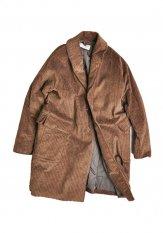 KELEN(ケレン) SHAWL COAT / ショールカラーコート カラー:ブラウン