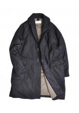 KELEN(ケレン) SHAWL COAT / ショールカラーコート カラー:ブラック