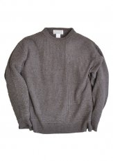 KELEN(ケレン) PATCHWORK KNIT / ニット カラー:モカ<img class='new_mark_img2' src='https://img.shop-pro.jp/img/new/icons50.gif' style='border:none;display:inline;margin:0px;padding:0px;width:auto;' />