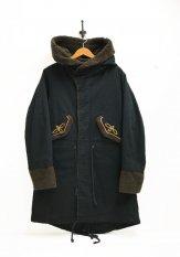 NASNGWAM(ナスングワム) NATIVE MODS COAT カラー:ブラック