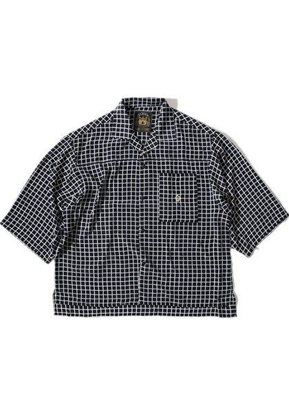 ALDIES(アールディーズ) ソフトハーフスリーブシャツ カラー:ブラック
