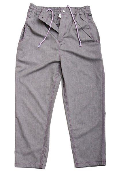 QUOLT(クオルト) PURPLE-STITCH PANTS カラー:グレー