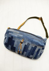 EARLY MORNING×NASNGWAM DENIM DAILY WAIST BAG Lサイズ