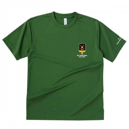 【卓球 Tシャツ】Penholderくん【オリーブ】