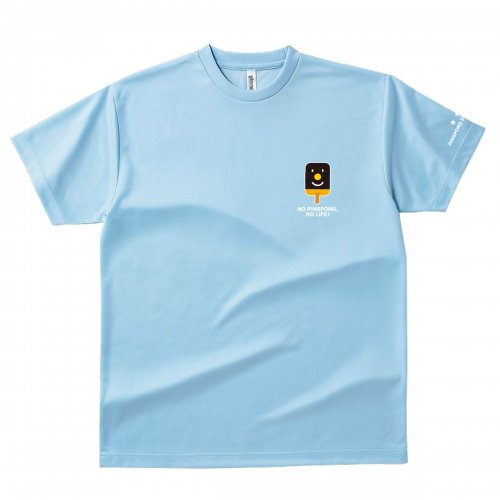 【卓球 Tシャツ】Penholderくん【ライトブルー】