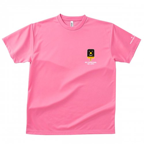 【卓球 Tシャツ】Penholderくん【ピンク】