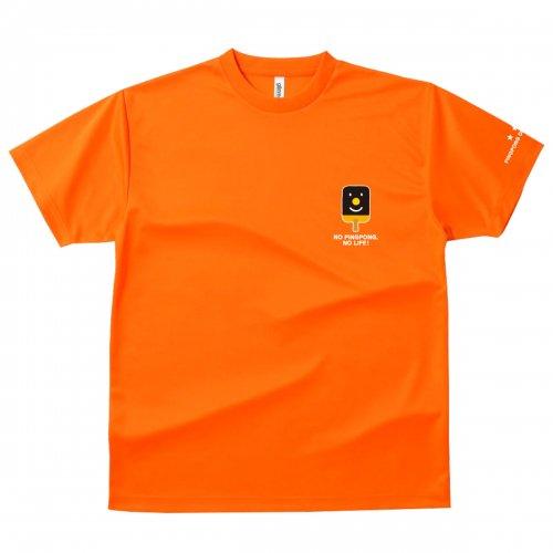 【卓球 Tシャツ】Penholderくん【オレンジ】