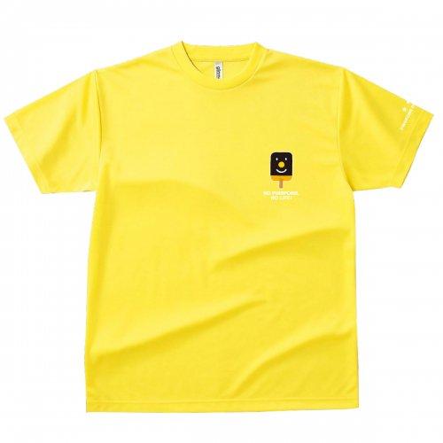 【卓球 Tシャツ】Penholderくん【イエロー】