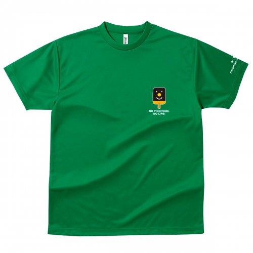 【卓球 Tシャツ】Penholderくん【グリー...