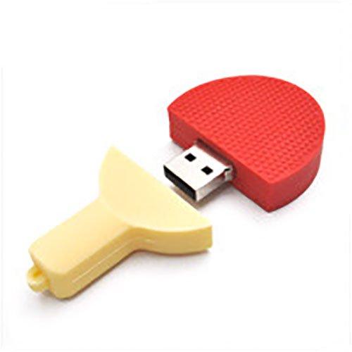 【卓球 ラケット】USBメモリー【赤】