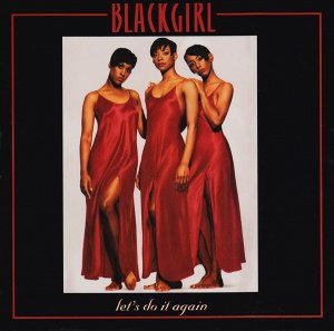 """Blackgirl _ Let's Do It Again _ Kaper Records[輸入中古12""""/ R&B , SOUL , HIPHOP]"""