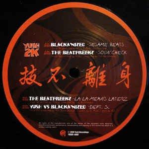 """The Beatfreekz Versus  Blacka'nized _ Yush Versus The Beatfreekz _ Yush 2K[輸入中古12"""" / BREAKBEAT"""
