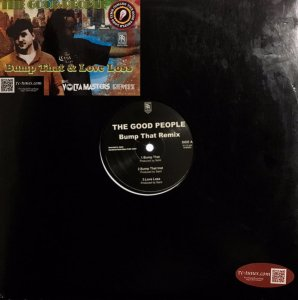 "The Good People _ Bump That (Remix) / Love Loss _ Revolution Recordings[国内中古12"" / HIPHOP]"