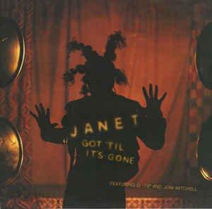 """Janet Feat Q-Tip&Joni Mitchell _ Got 'Til It's Gone _ Virgin[輸入中古12"""" / R&B HIPHOP]"""
