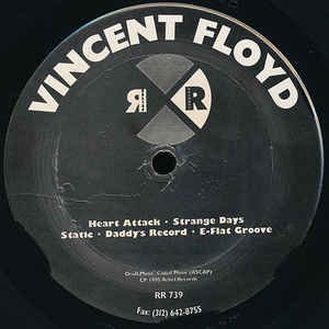 """Vincent Floyd _ Heart Attack _ Relief Records[輸入中古12""""/MINIMAL HOUSE]"""