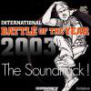 Battle Of The Year 2003 Soundtrack[中古 CD]