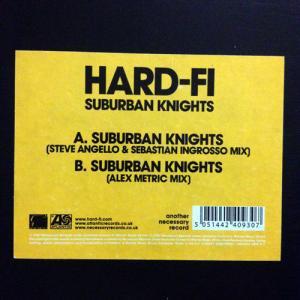 """Hard-Fi _ Suburban Knights[中古12"""" / TECHNO]"""