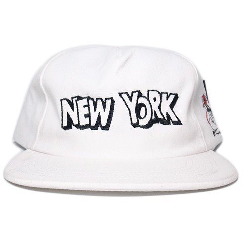 "Stussy Low Profile 6Panel Cap ""NY Club""   White - 名古屋 Blow Import HIPHOP  WEAR SHOP 8e21940e812"