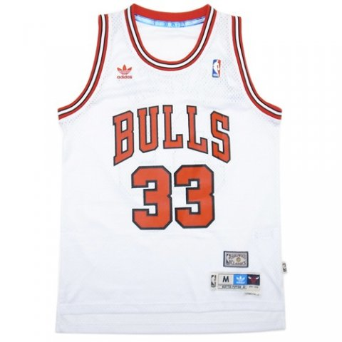 "best website babbd b61ad adidas Soul Swingman Throwback Jersey ""Chicago Bulls Scottie Pippen"" /  White - 名古屋 Blow Import HIPHOP WEAR SHOP"