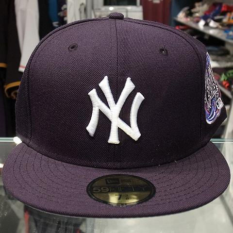 """7c3bf970a21 New Era Fitted Cap """"New York Yankees Subway Series""""   Navy - 名古屋 Blow  Import HIPHOP WEAR SHOP"""