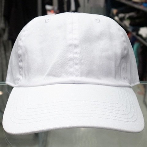 7aa958f532b Newhattan 6 Panel Baseball Cap   White - 名古屋 Blow Import HIPHOP WEAR SHOP