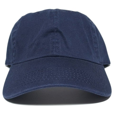 5622515d5ba Newhattan 6 Panel Baseball Cap   Navy - 名古屋 Blow Import HIPHOP WEAR SHOP