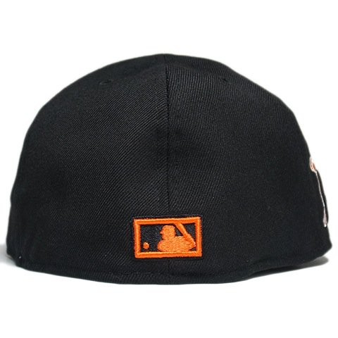 """e157d7e591ad09 New Era Fitted Cap """"New York Giants 1954 World Series"""" / Black - 名古屋 Blow  Import HIPHOP WEAR SHOP"""