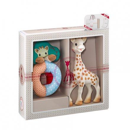 【正規品 正規販売店】Sophie la girafe ソフィスティケード・ビーズラトルセット