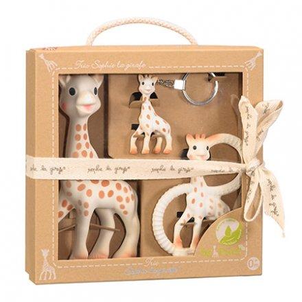【正規品 正規販売店】Sophie la girafe ソーピュア・ママといっしょ3点セット