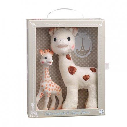【正規品 正規販売店】Sophie la girafe ソフィーとシェリーぬいぐるみセット