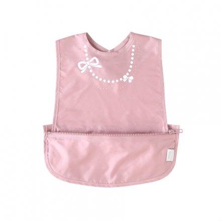 【メール便可】 10mois ディモア お食事ポーチロン袖なし ピンク