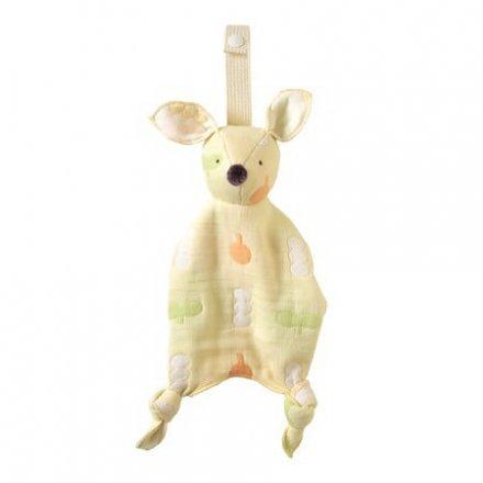 Hoppetta ホッペッタ ふくふくガーゼ(6重ガーゼ) あんしんブランケット ポルカ バンビ
