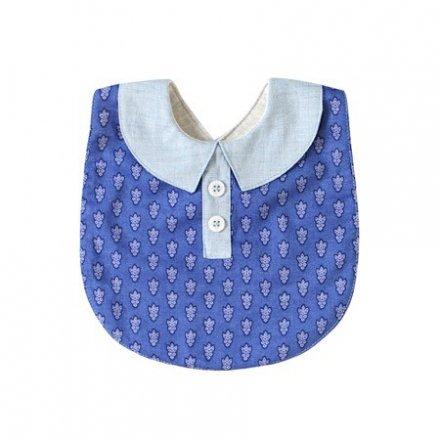 【メール便可】SOULEIADO ソレイアード シャツ襟スタイ ブルー