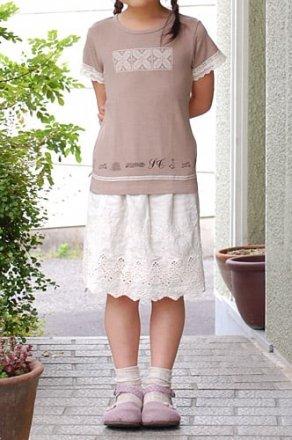 s.t.closet s.t.クローゼット 【2011春夏】後ろ切替プリントTシャツ