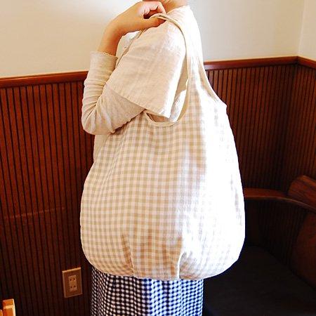 【メール便可】jamila ジャミラ バルーンバッグ 当店限定カラー!ナチュラル_04