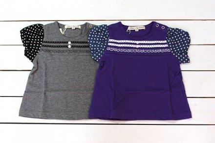 【メール便可】Little s.t. by s.t.closet s.t.クローゼット バルーン袖Tシャツ