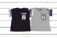 【メール便可】BLUEU AZUR ブルーアズール 【2012春夏】セーラープリントTシャツ