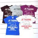 【メール便可】BLUEU AZUR ブルーアズール 【2012春夏】くまプリントTシャツ