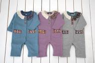 【メール便可】Little s.t. by s.t.closet s.t.クローゼット レース付きカバーオール