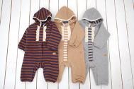 Little s.t. by s.t.closet s.t.クローゼット キルトニットジャンプスーツ